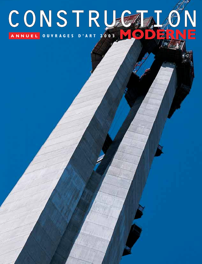 Construction moderne Ouvrages d'art 2003