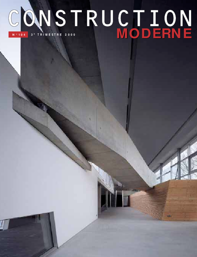 Construction Moderne n°104