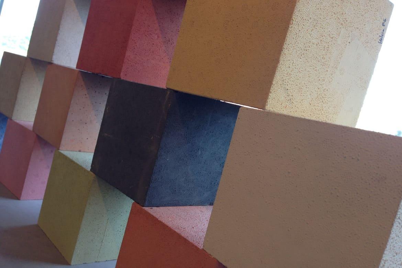 Béton Haute Performance Recette quand le béton prend de la couleur : béton lasuré, peint ou