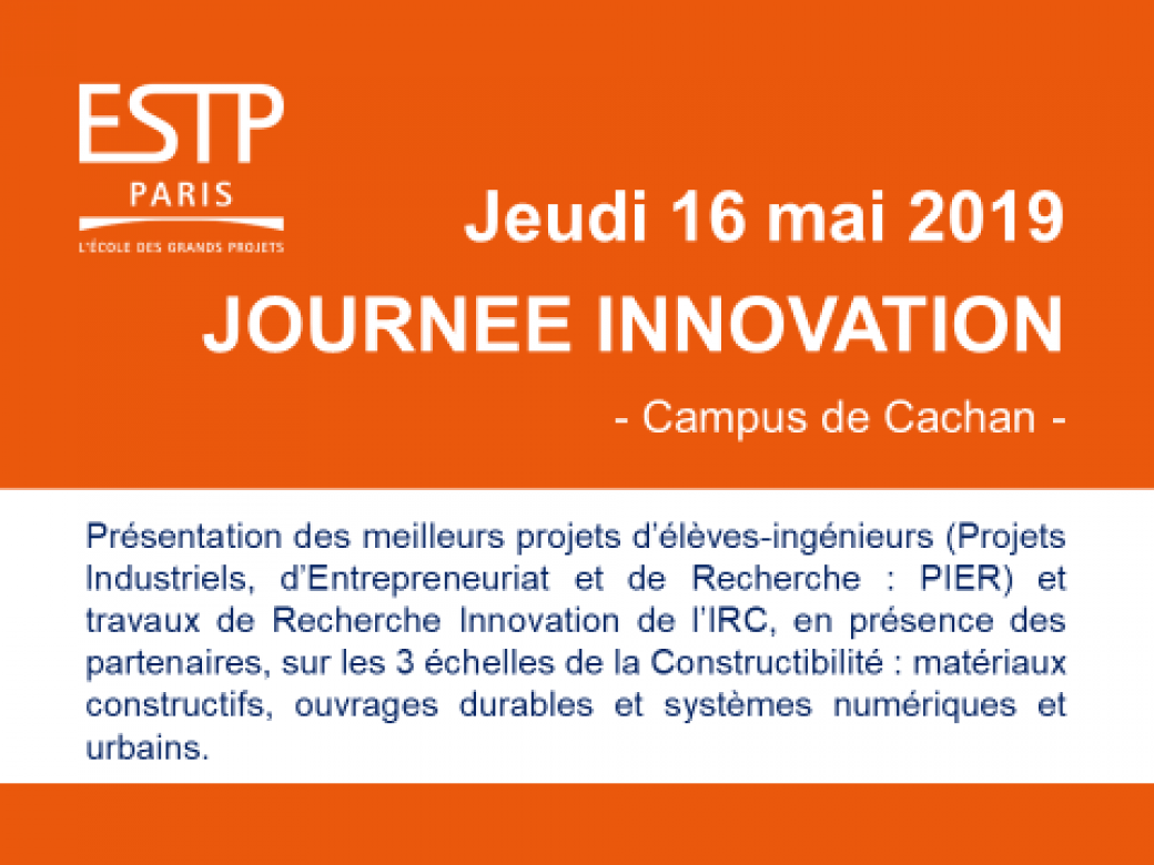 ESTP Journée innovation 2019